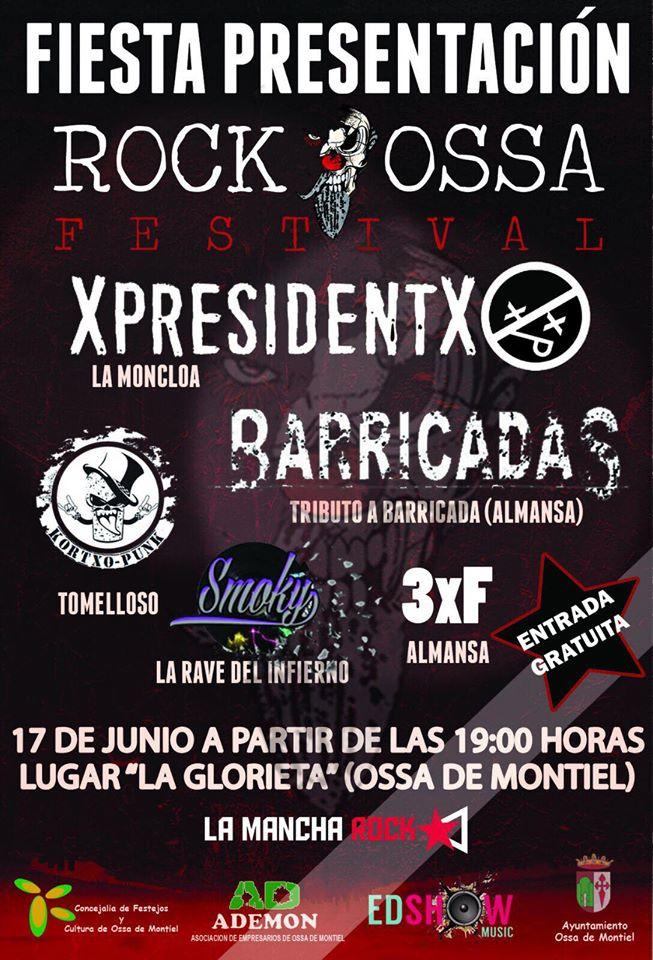 XpresidentX Rap Metal Punk en el Rockossa Festival