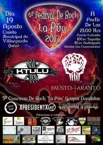 XpresidentX grupo de rap metal punk en Festival Rock la pua