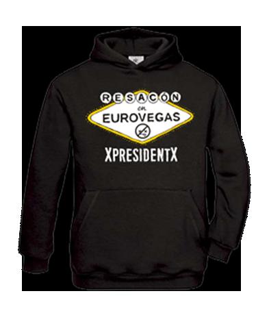 Sudadera XpresidentX Resacon en Eurovegas Rap metal punk