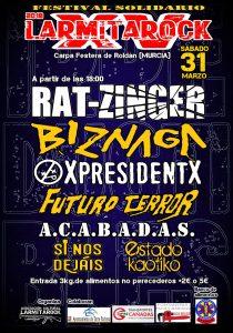 XpresidentX Larmitarock rap metal punk