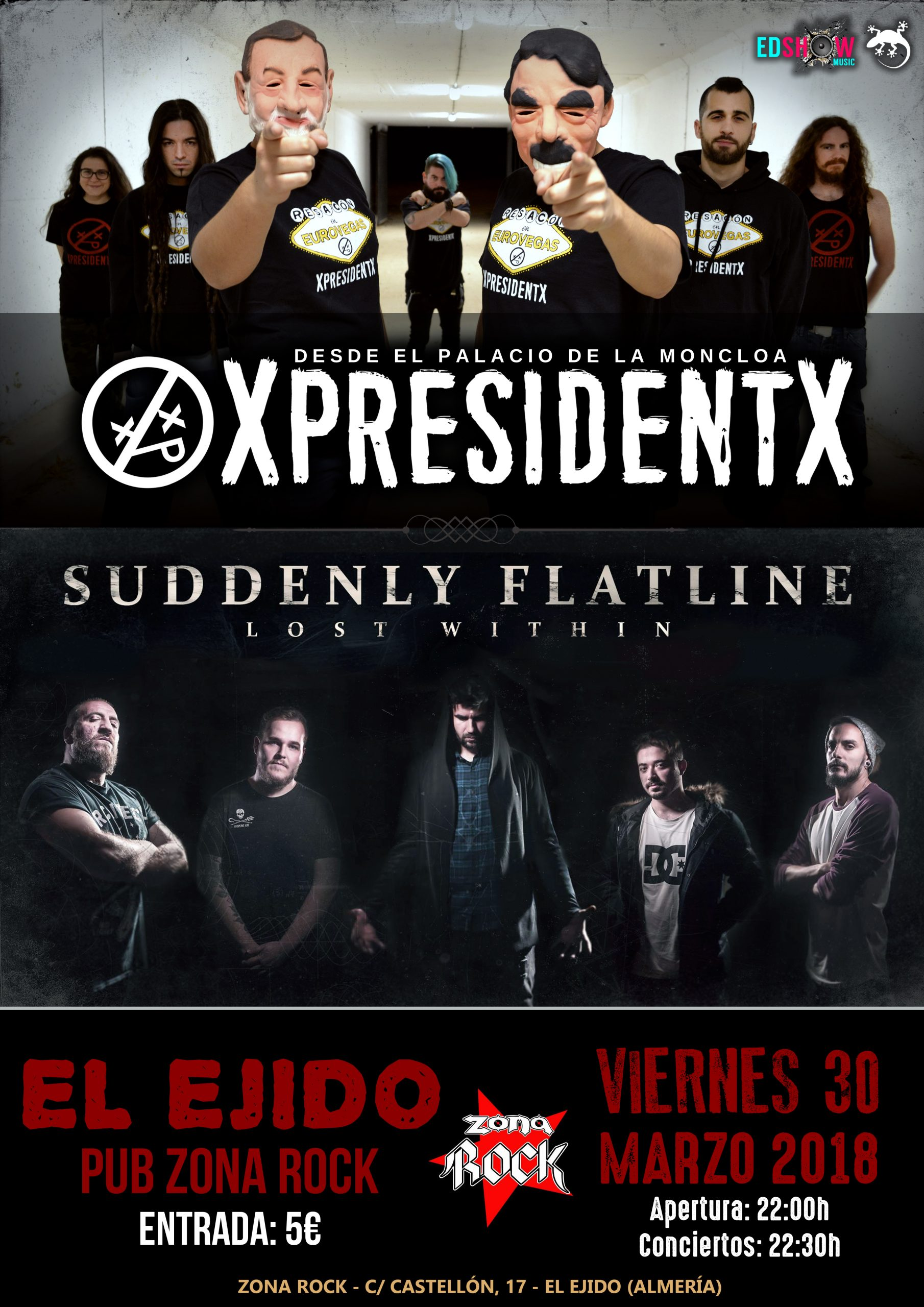 XpresidentX El Ejido Rap Metal Punk Hardcore