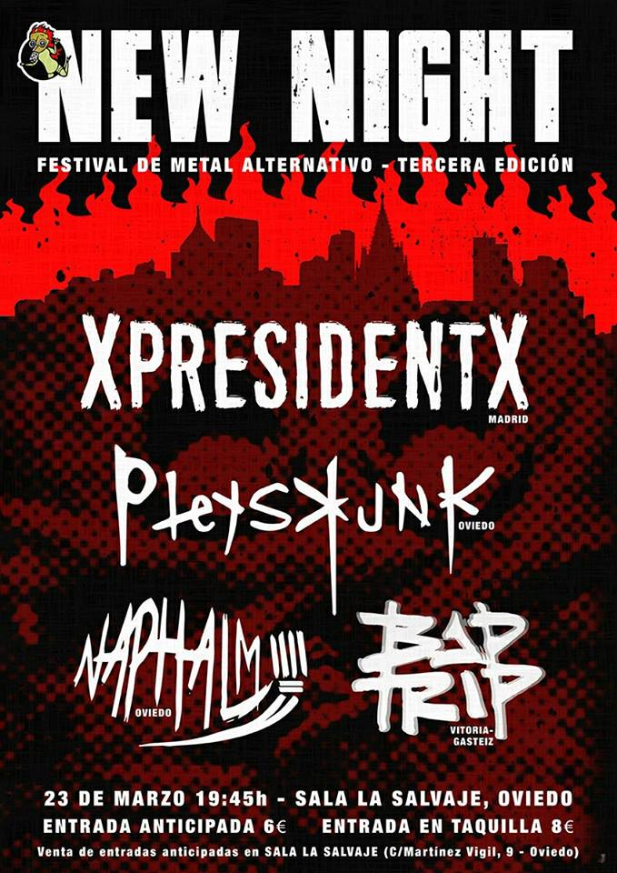XpresidentX Rap Metal Punk Oviedo