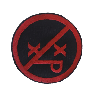Parche XpresidentX Grande rap metal punk hardcore