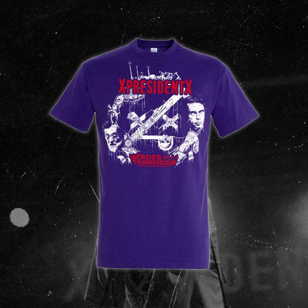 xpresidentx-rap-metal-españa-camiseta-morada