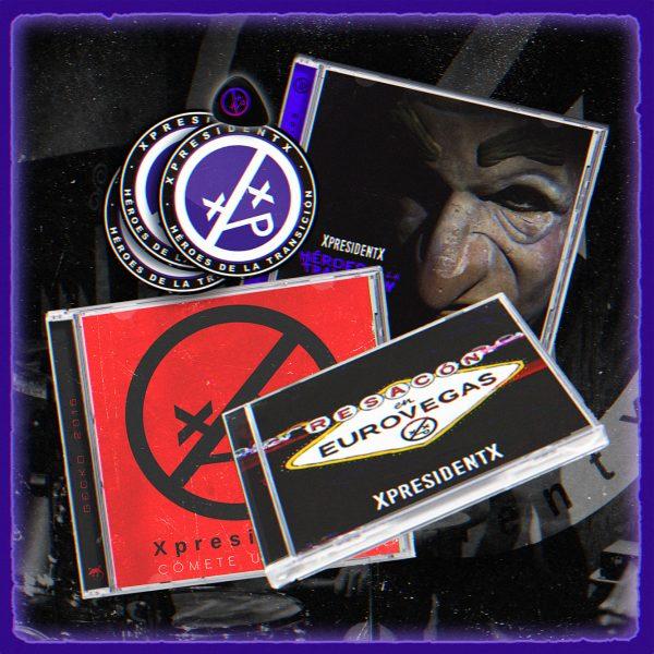 XpresidentX discografia rap metal punk PACK 3 DISCOS